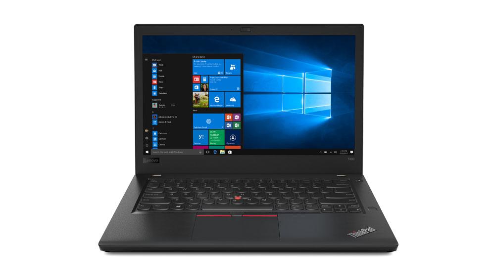 "Lenovo ThinkPad T480 Portátil Negro 35,6 cm (14"") 8ª generación de procesadores Intel® Core™ i5 8 GB DDR4-SDRAM 256 GB SSD Wi-Fi 5 (802.11ac) Windows 10 Pro"
