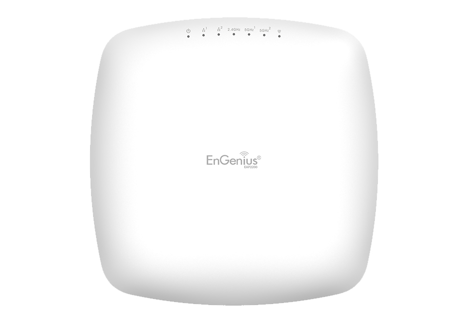 EnGenius EWS385AP Managed AP Indoor Triband AP 11ac Wave2 AC2200 400+867+867 2T2R 2 x 5dBi + 4 x 6dB