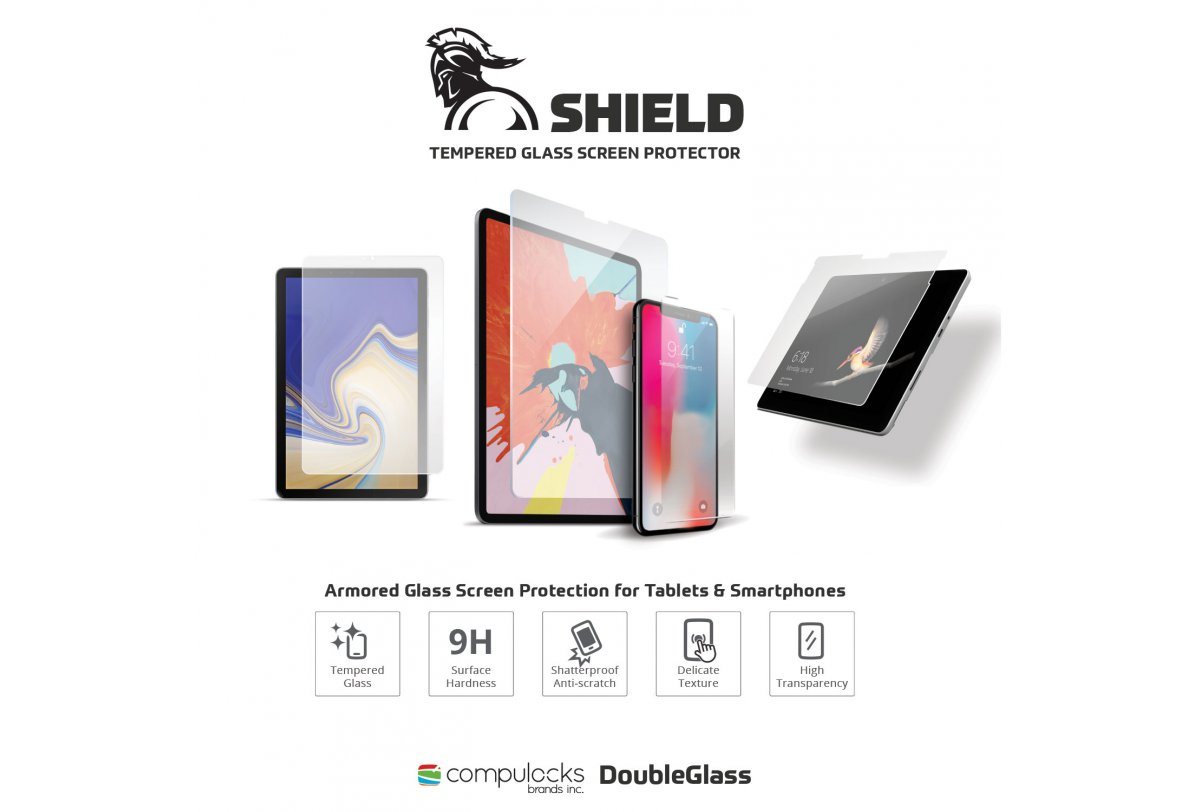 SHIELD - Tempered Glass Screen Protector For Surface Pro 4/5/6