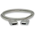 """Black Box EGM16T-0050-MF serial cable Gray 598.4"""" (15.2 m) DB15"""