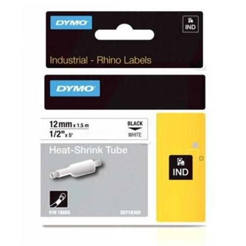 DYMO 18055 (S0718300) Embossing tape, 12mm x 1,5m