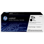 HP Q2612AD (12AD) Toner black, 2K pages @ 5% coverage, Pack qty 2