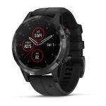 Garmin fenix 5 Plus Bluetooth 240 x 240pixels Black, Stainless steel sport watch