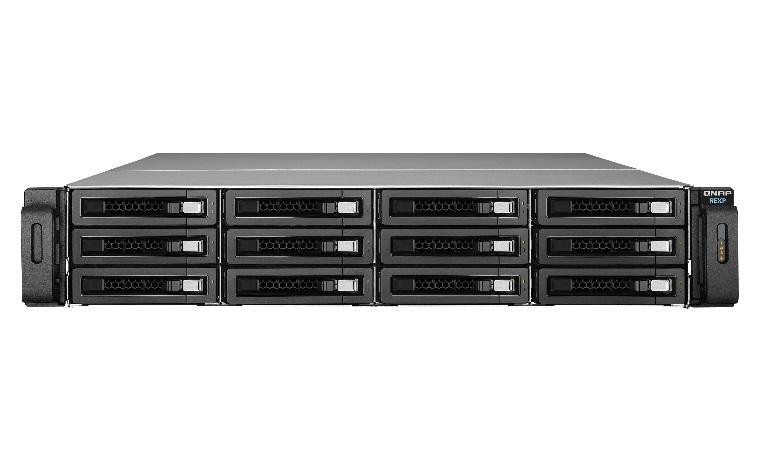 QNAP REXP-1220U-RP 144TB 12x12TB Seagate Exos 12 Bay NAS Expansion