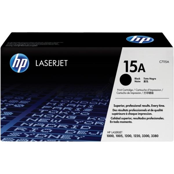 HP C7115A (15A) Toner black, 2.5K pages