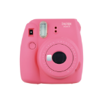 Fujifilm Instax Mini 9 Flamingo Pink Instant Camera inc 10 Shots