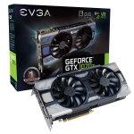 EVGA 08G-P4-6775-KR GeForce GTX 1070 8GB GDDR5 graphics card