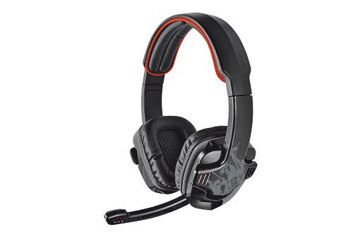 Trust GXT 340 Binaural Head-band Black headset