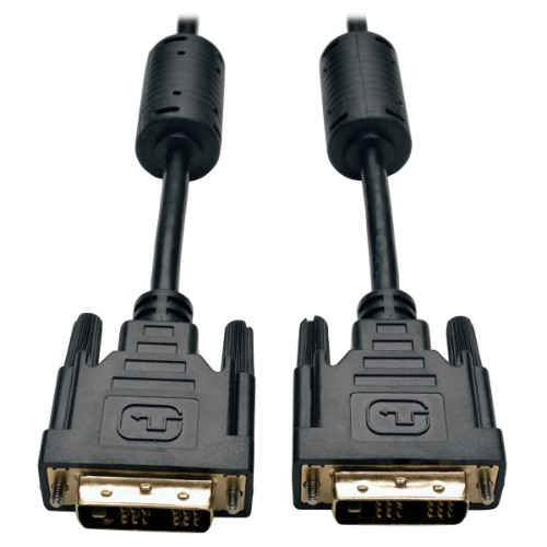 Tripp Lite DVI Single Link Cable, Digital TMDS Monitor Cable (DVI-D M/M), 3.05 m (10-ft.)