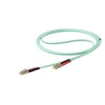 StarTech.com 450FBLCLC10 fibre optic cable 10 m LC LSZH OM4 Aqua