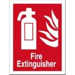 Stewart Superior Fire Extinguisher Sign