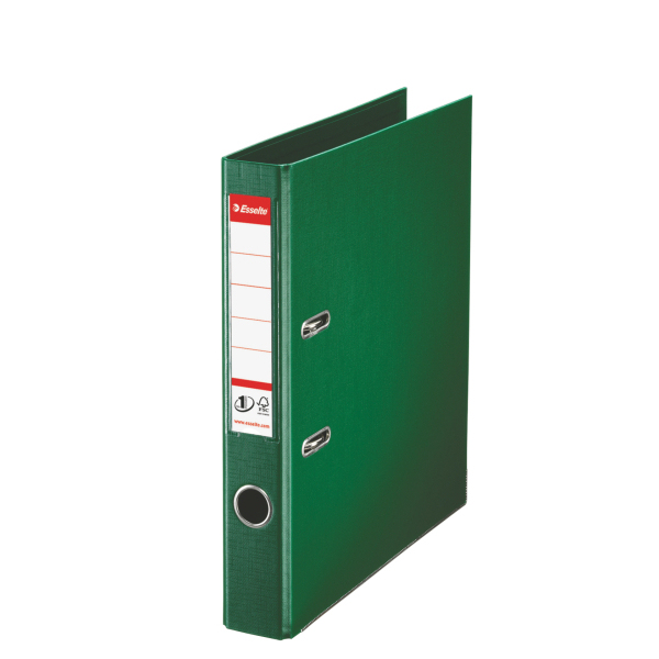Esselte Lever Arch File Pvc A4 50mm Green