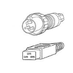 Cisco CAB-AC-2800W-INT= power cable Black 4.1 m IEC 309 C19 coupler