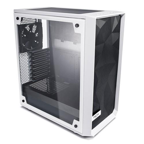 Fractal Design Meshify C - TG computer case Midi-Tower Transparent, White