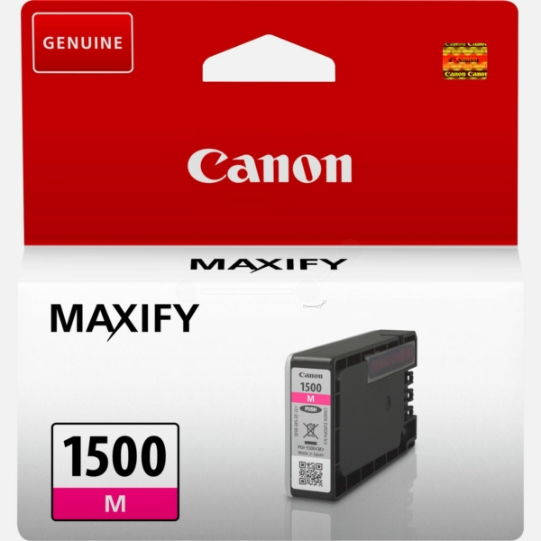 Canon 9230B001 (PGI-1500 M) Ink cartridge magenta, 300 pages, 5ml