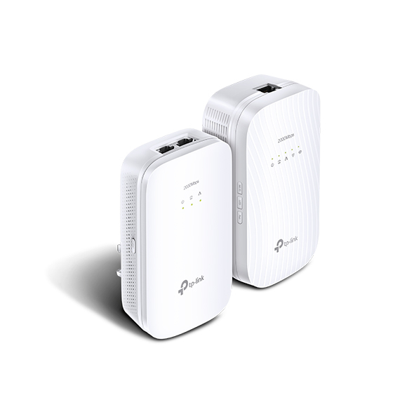 TP-LINK TL-WPA9610 KIT 2000Mbit/s Ethernet LAN Wi-Fi White 2pc(s) PowerLine network adapter