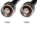 Premiertek PT-NM-NM-05 0.5m Black Coaxial Cable