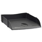 Avery DR100BLK Polystyrene Black desk tray