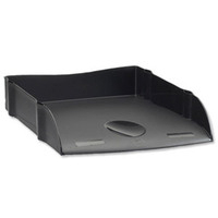 Avery Dtr Letter Tray Black Dr100blk