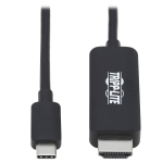 "Tripp Lite U444-003-HBE video cable adapter 35.8"" (0.91 m) USB Type-C HDMI Type A (Standard) Black"