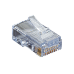 Black Box C5EEZUP-50PAK wire connector RJ-45 Transparent