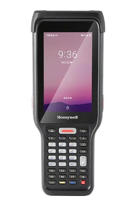 "Honeywell EDA61K BT/WF/2D 6703/NUMERIC/CAMERA ordenador móvil industrial 10,2 cm (4"") 800 x 480 Pixeles Pantalla táctil 435 g Negro"