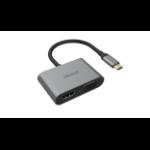 Akasa USB Type-C 2-In-1 Adapter