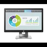 "HP EliteDisplay E202 50.8 cm (20"") 1600 x 900 pixels HD+ LED Black, Silver"