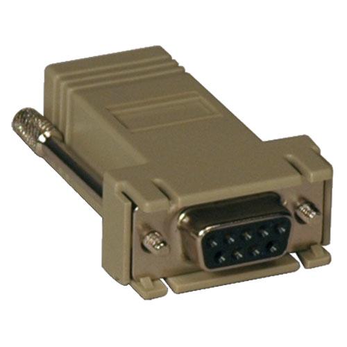 Tripp Lite Modular Serial Adapter Crossover Wiring (DB9 F to RJ45 F)