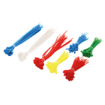 LogiLink KAB0017 cable tie Nylon Blue, Green, Red, White, Yellow