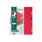 Exacompta 2410E divider Multicolour Paper 10 pc(s)