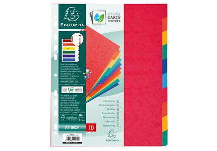Exacompta 2410E divider Multicolour Paper 10 pc(s)