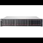 Hewlett Packard Enterprise MSA 2040 SAN no SFP w/6 900GB SAS SFF HDD Bundle/TVlite
