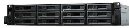 Synology RX1217sas disk array 96 TB Rack (2U) Black,Grey