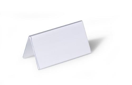 Durable 8051 sign holder/information stand Transparent