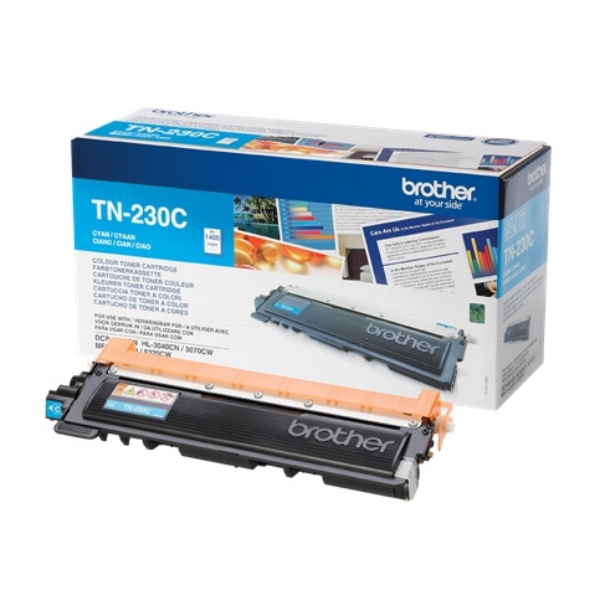 Brother TN-230C Toner cyan, 1.4K pages