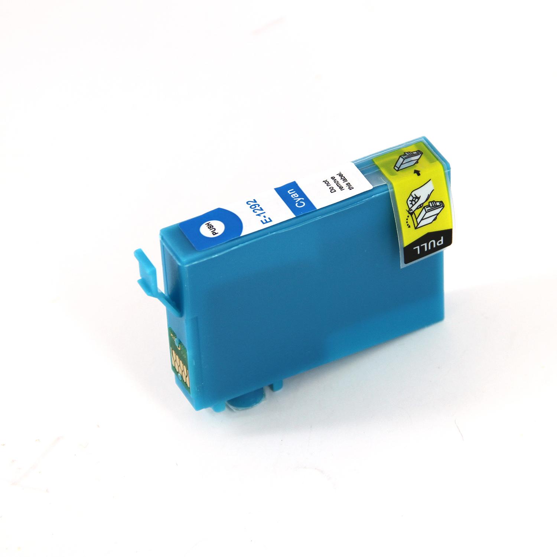 Compatible Epson T1292 Apple Cyan Ink Cartridge
