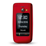 "TELME X200 2.4"" 90g Red Entry-level phone"