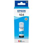 Epson C13T00P240 (104) Ink bottle cyan, 7.5K pages, 65ml