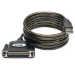 Tripp Lite Hi-Speed USB to IEEE 1284 Parallel Printer Gold Adapter Cable (USB-A to DB25 M/F), 6-ft.