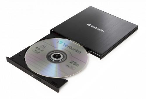 Verbatim 43889 optical disc drive Blu-Ray RW Black