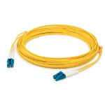AddOn Networks ADD-LC-LC-6M9SMFLZ fibre optic cable 6 m OS2 Yellow