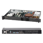 Supermicro SuperChassis 510-203B Rack Black 200 W