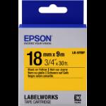 Epson LK-5YBP labelprinter-tape