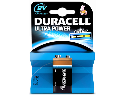 Duracell Ultra Power 9V 1 Pack Single-use battery Alkaline