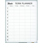 QUARTET PENRITE PLANNER BOARD TERM 900X1200MM