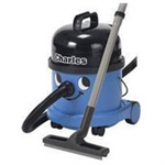 Numatic Charles CVC370 Cylinder vacuum cleaner 1600W Black,Blue