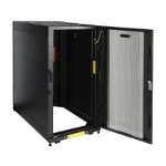 CyberPower CR24U11001 rack cabinet 24U Freestanding rack Black