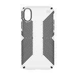 "Speck Presidio Grip mobile phone case 14.7 cm (5.8"") Cover Black, White"