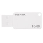 Toshiba TransMemory U303 16GB USB 3.0 (3.1 Gen 1) USB Type-A connector White USB flash drive